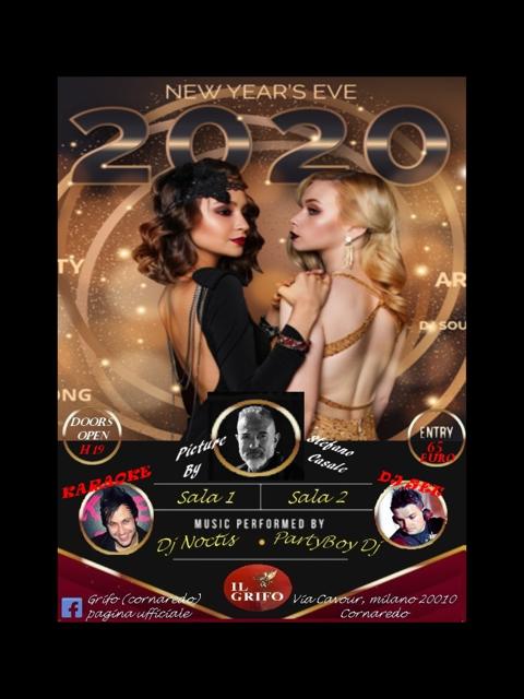 Happy New Year's 2020 al Grifo